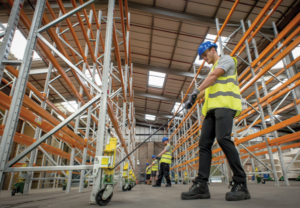 Reloskate - Reloskate provides a mobilised pallet racking moving system designed to be affixed to any type of racking in the UK and Europe. Our system is designed to handle fully built racking along with racking fitted with sprinkler systems